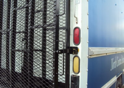 Rear Mounted Box Truck Ramps-Step Van Close