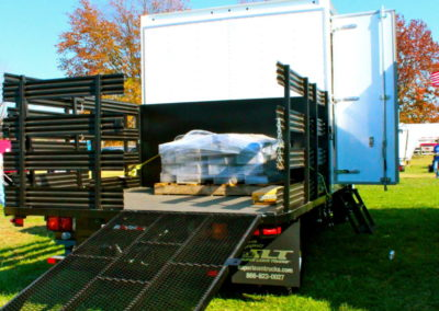 Rear Mounted Box Truck Ramps-Landscape Truck
