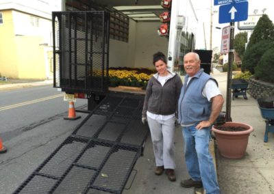 Rear Mounted Box Truck Ramps-City Streets