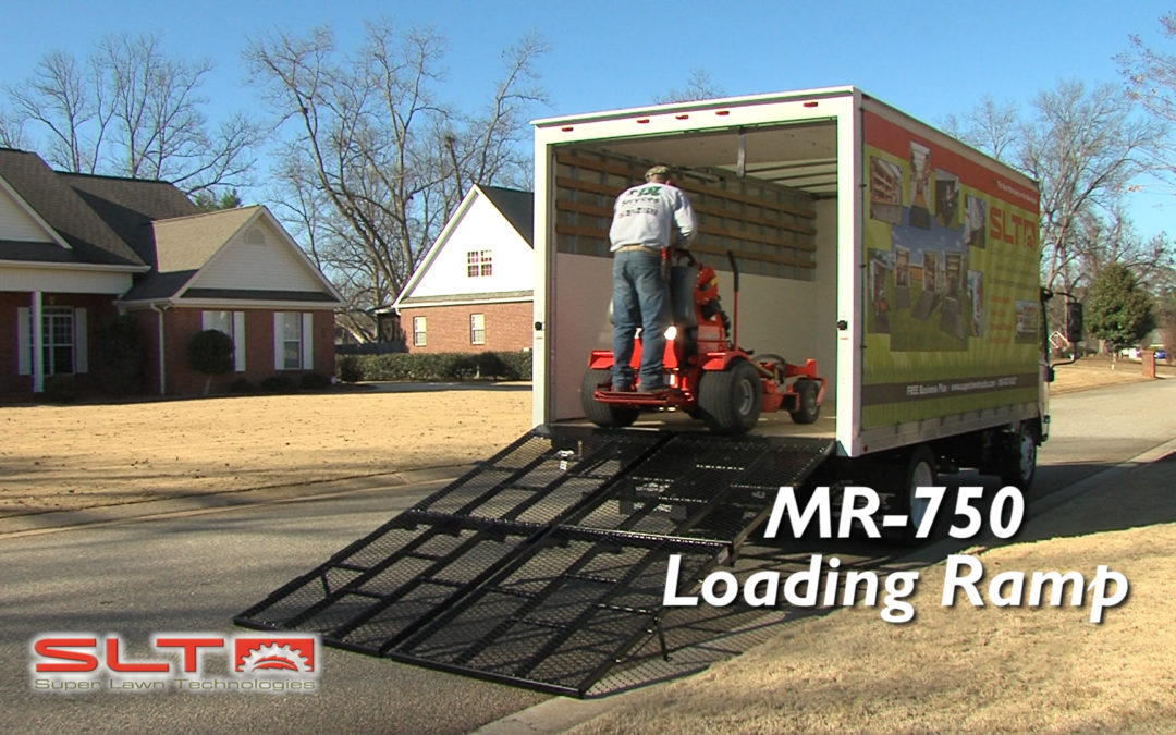 MR-750 Manual Loading Ramp