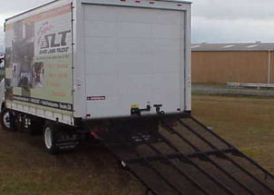 Rear Mounted Box Truck Ramps